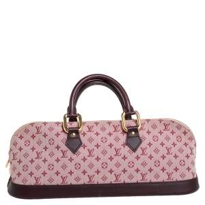 Louis Vuitton Cherry Monogram Mini Lin Horizontal Alma Bag