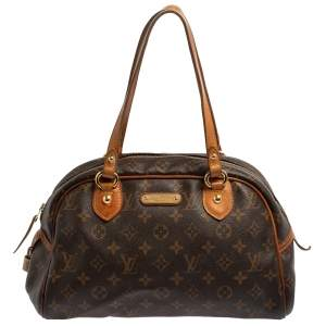 Louis Vuitton Monogram Canvas and Leather Montorgueil PM Bag