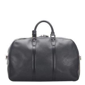 Louis Vuitton Black Taiga Leather Kendall PM Bag