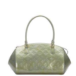 Louis Vuitton Green Monogram Vernis Sherwood PM Bag