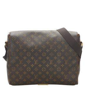 Louis Vuitton Monogram Canvas Abbesses Bag
