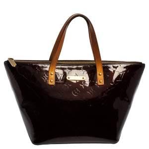 حقيبة لوى فيتون بيليفو فيرنيه مونوغرامى أرجوانية PM