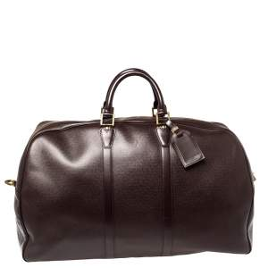 Louis Vuitton Burgundy Taiga Leather Kendall GM Bag