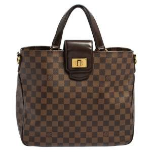 Louis Vuitton Damier Ebene Canvas Cabas Rosebery Bag