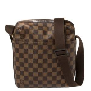 Louis Vuitton Damier Ebene Canvas Trotteur Beaubourg PM Bag