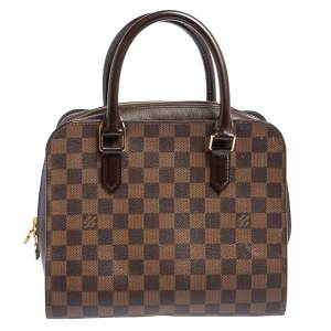 Louis Vuitton Damier Ebene Canvas and Leather Triana Bag
