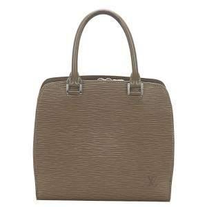 Louis Vuitton Brown Epi Leather Pont Neuf Bag