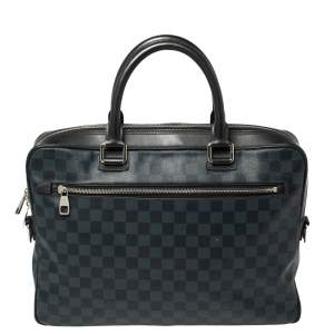 Louis Vuitton Damier Graphite Canvas Steeve Briefcase Bag