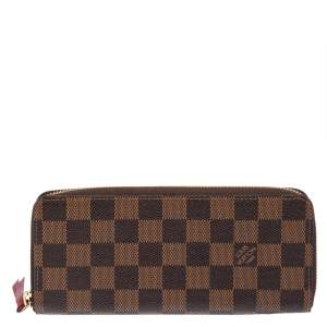 Louis Vuitton Monogram Canvas Clemence Wallet