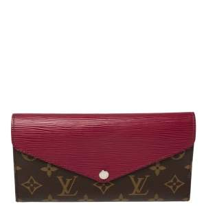 Louis Vuitton Monogram Canvas and Epi Leather Marie-Lou Wallet