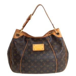 Louis Vuitton Brown Monogram Canvas Galliera PM bag