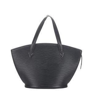 Louis Vuitton Black Epi Leather Saint Jacques Long Strap PM Bag