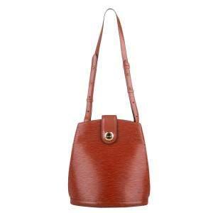 Louis Vuitton Brown Epi Leather Cluny Bag