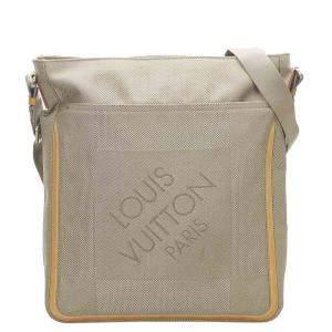 Louis Vuitton Brown Canvas Fabric Messenger
