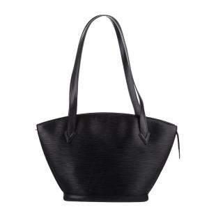 Louis Vuitton Black Epi Leather Saint Jacques PM Long Strap Bag