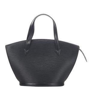 Louis Vuitton Black Epi Leather Saint Jacques GM Long Strap Bag