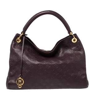 Louis Vuitton Flamme Monogram Empreinte Leather Artsy MM Bag
