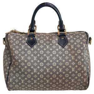 Louis Vuitton Encre Monogram Idylle Canvas Speedy Bandouliere 30 Bag