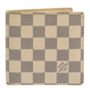 Louis Vuitton Damier Azur Canvas Marco Wallet