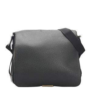 Louis Vuitton Black Taiga Leather Viktor Bag