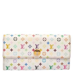Louis Vuitton Multicolore Monogram Coated Canavas Sarah Continental Wallet