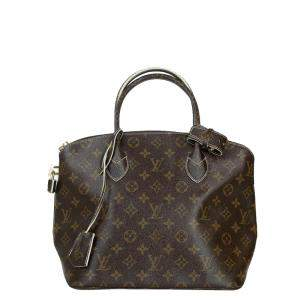 Louis Vuitton Monogram Canvas Shine Fetish Lockit Bag