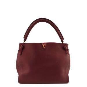 Louis Vuitton Pink Leather Tournon Shoulder Bag