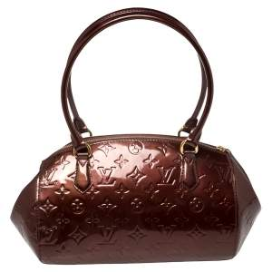 Louis Vuitton Rouge Fauviste Monogram Vernis Sherwood PM Bag
