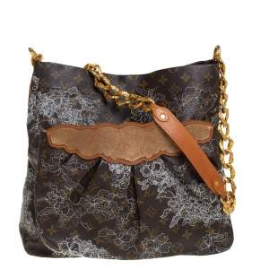 Louis Vuitton Monogram Canvas Limited Edition Dentelle Fersen GM Bag