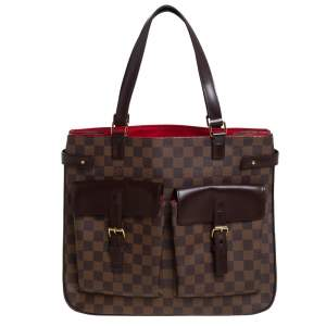 Louis Vuitton Damier Ebene Canvas Uzes Tote