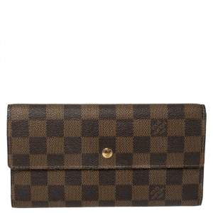 Louis Vuitton Damier Ebene Canvas Porte-Tresor International Wallet