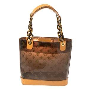 Louis Vuitton Monogram Vinyl Limited Edition Ambre PM Bag