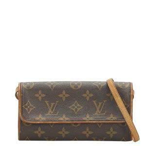 Louis Vuitton Monogram Canvas Pochette Twin PM Bag