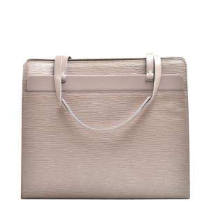 Louis Vuitton Beige Epi Leather Croisette PM Bag