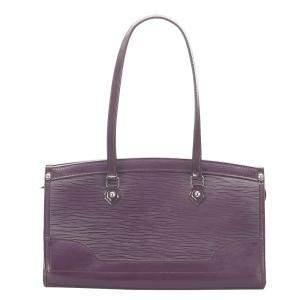 Louis Vuitton Purple Epi Leather Madeleine PM Bag