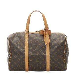 Louis Vuitton Monogram Canvas Sac Souple 35 Bag