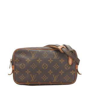 Louis Vuitton Brown Canvas Marly Bandouliere Shoulder Bag