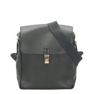 Louis Vuitton Black Leather Yaranga Shoulder Bag
