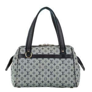 Louis Vuitton Grey Monogram Mini Lin Canvas Josephine PM Bag