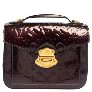 Louis Vuitton Rouge Fauviste Monogram Vernis Mirada Bag
