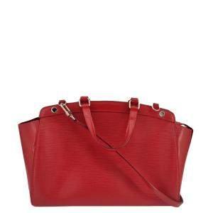 Louis Vuitton Red Epi Leather Brea Shoulder Bag