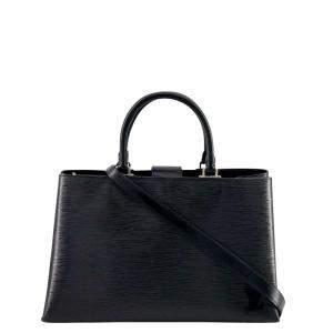 Louis Vuitton Black Epi Leather Kleber Shoulder Bag