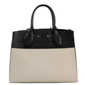 Louis Vuitton Beige Leather City Streamer Bag