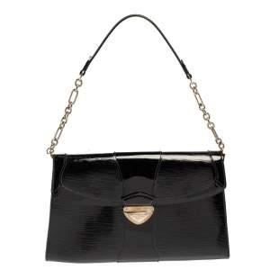 Louis Vuitton Black Electric Epi Leather Lena Bag