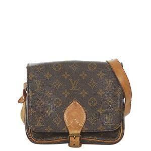 Louis Vuitton Monogram Canvas Cartouchiere MM Bag