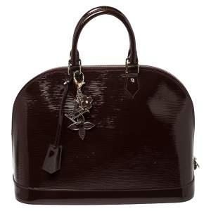 Louis Vuitton Prune Electric Epi Leather Alma GM Bag