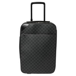 Louis Vuitton Damier Graphite Canvas Pegase Light 55 Luggage