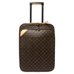 حقيبة سفر لوي فيتون بيزنس بيغاس ليجير 55 كانفاس مونوغرامي