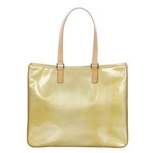 Louis Vuitton Brown Monogram Vernis Columbus Bag