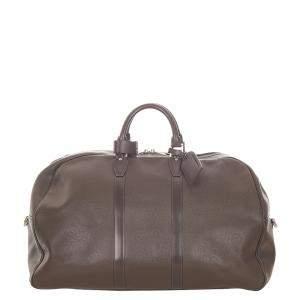 Louis Vuitton Brown Taiga Leather Kendall PM Bag